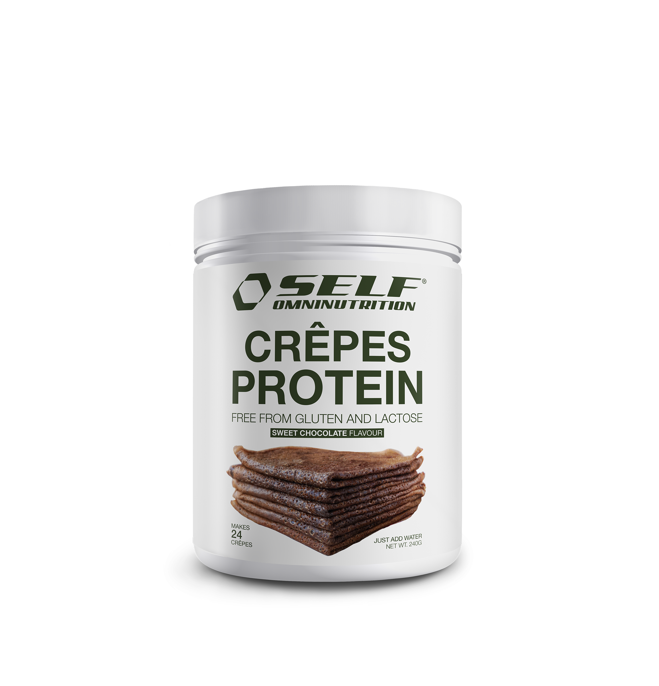 Self Crepes protein | 240g | Choklad