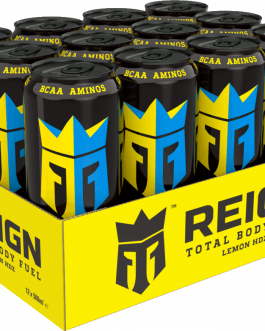 Reign Energy | Lemon Hzd | Energidryck | 50cl | 12-pack