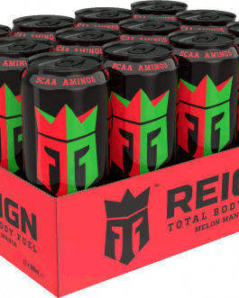 Reign Energy | Melon Mania | Energidryck | 50cl | 12-pack