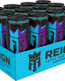Reign Energy | Razzle Berry | Energidryck | 50cl | 12-pack