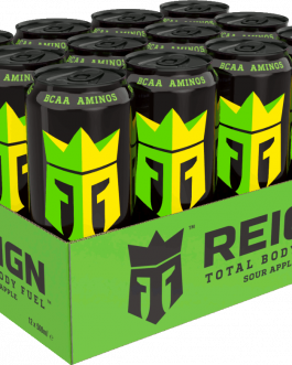Reign Energy | Apple Sour | Energidryck | 50cl | 12-pack