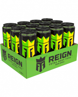 12 x Reign Energy | Apple Sour | Energidryck | 50cl