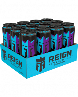 12 x Reign Energy Dryck | Razzle Berry | Energidryck | 50cl
